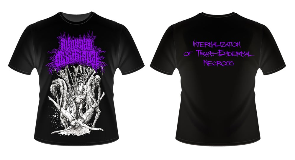 Image of INHUMAN DISSILIENCY T SHIRT (IN STOCK)