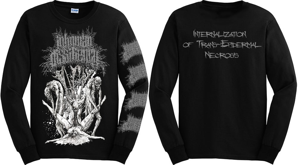 Image of INHUMAN DISSILIENCY LONGSLEEVE SHIRT (IN STOCK)
