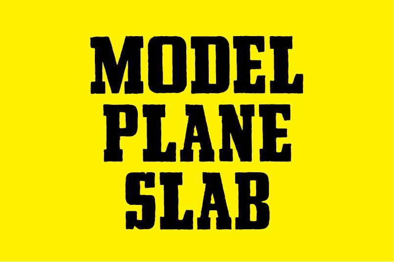 Image of Model Plane Slab
