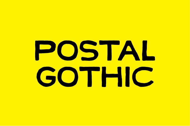 Image of Postal Gothic