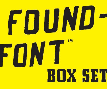 Image of FOUNDFONT™ BOX SET