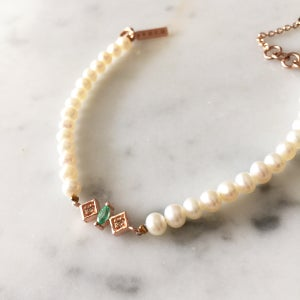 Image of Renee Pearl Bead Bracelet