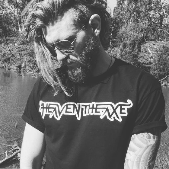 "Image of HEAVEN THE AXE ""Sinner"" T-Shirt"