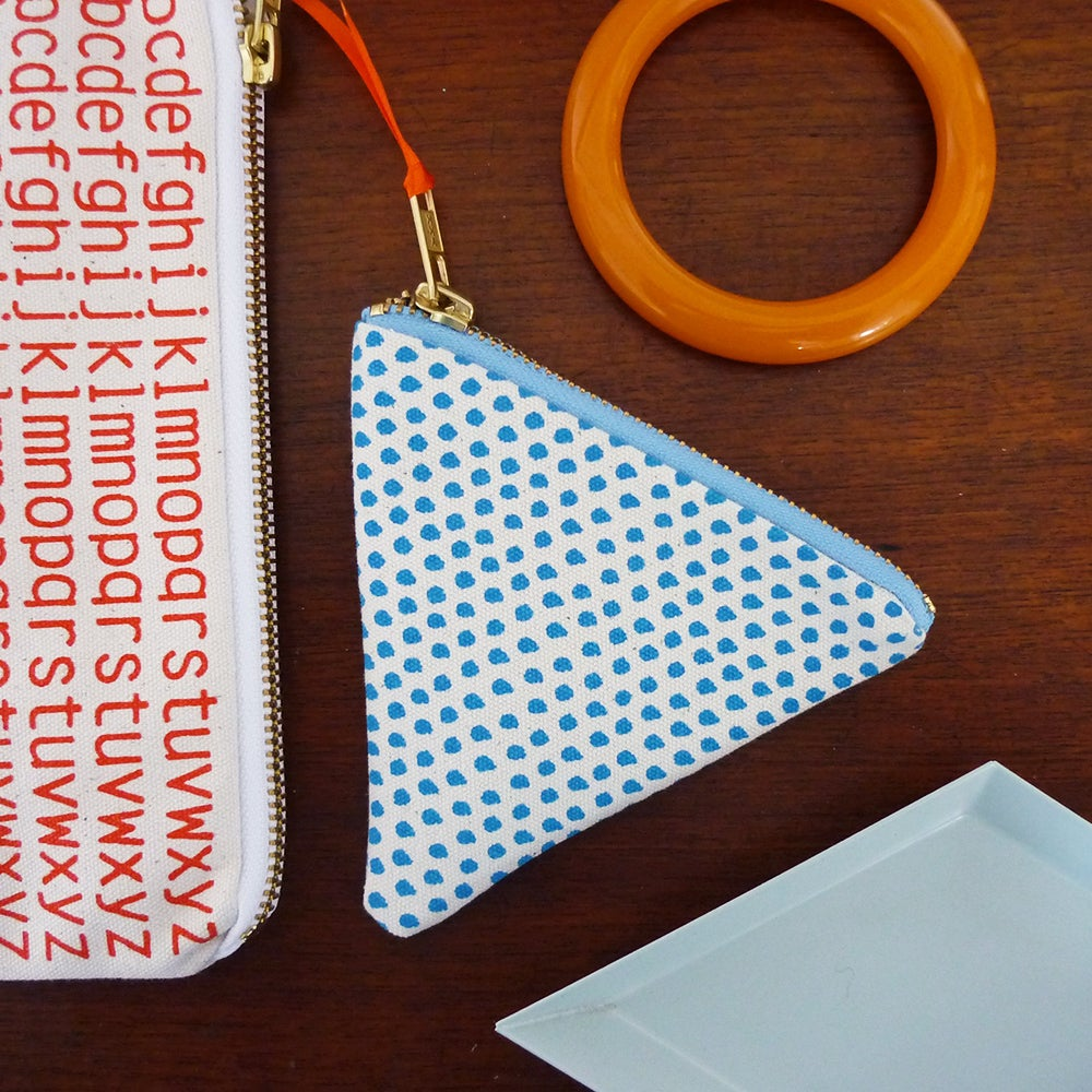 Image of Dotty Triangle Coin Purse