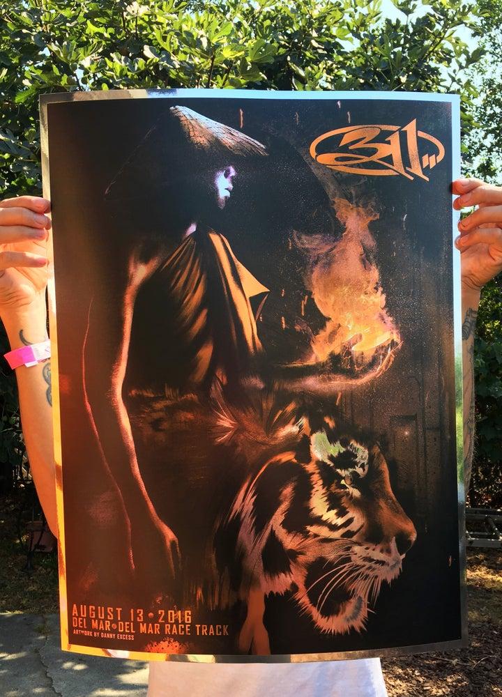 Image of 311 Del Mar Poster (Chrome Foil)