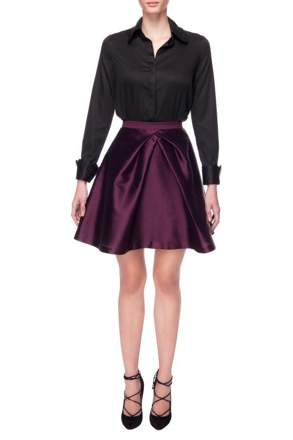 Edinburgh Shirt (Black) $310.00 - Melissa Bui