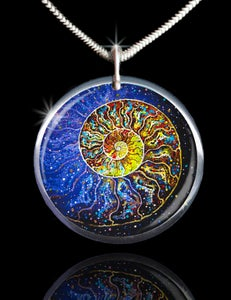 Image of The Sacred Nautilus Energy Pendant