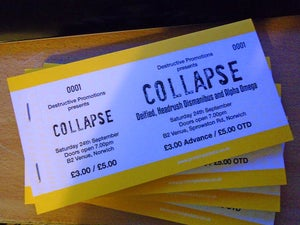 Image of Collapse at The Brickmakers, Norwich, 24th September