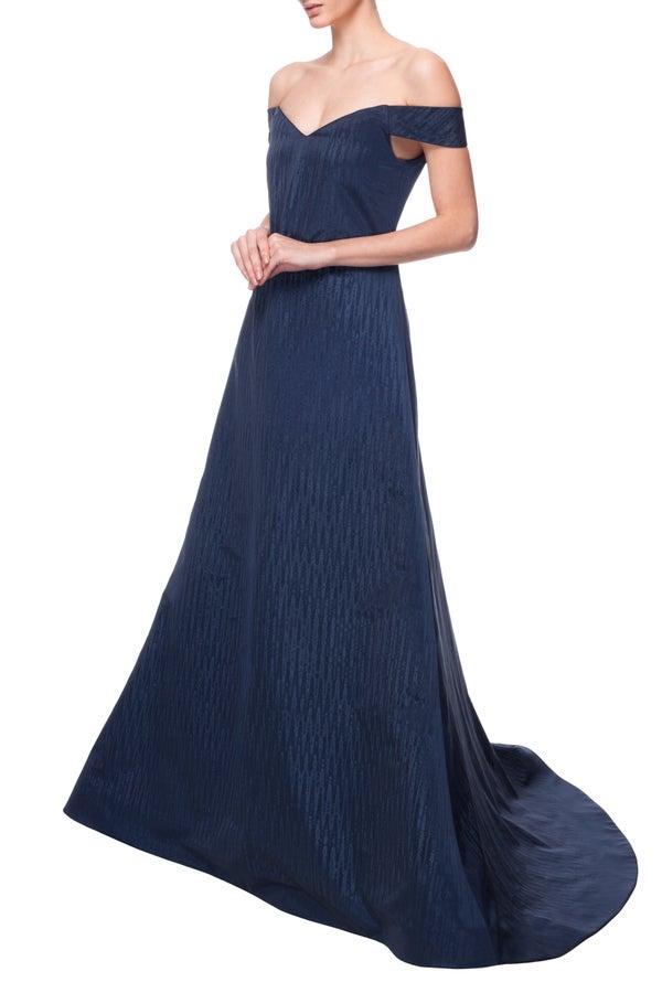 Borealis Gown Blue - Melissa Bui