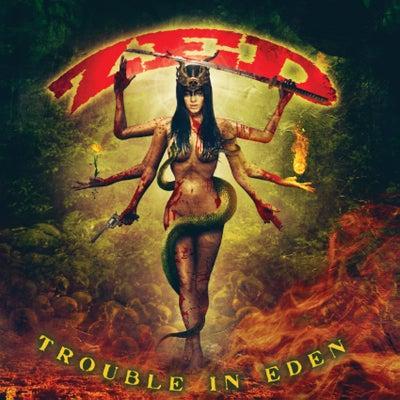 Image of ZED - Trouble in Eden (Black Armageddon Limited Vinyl LP)