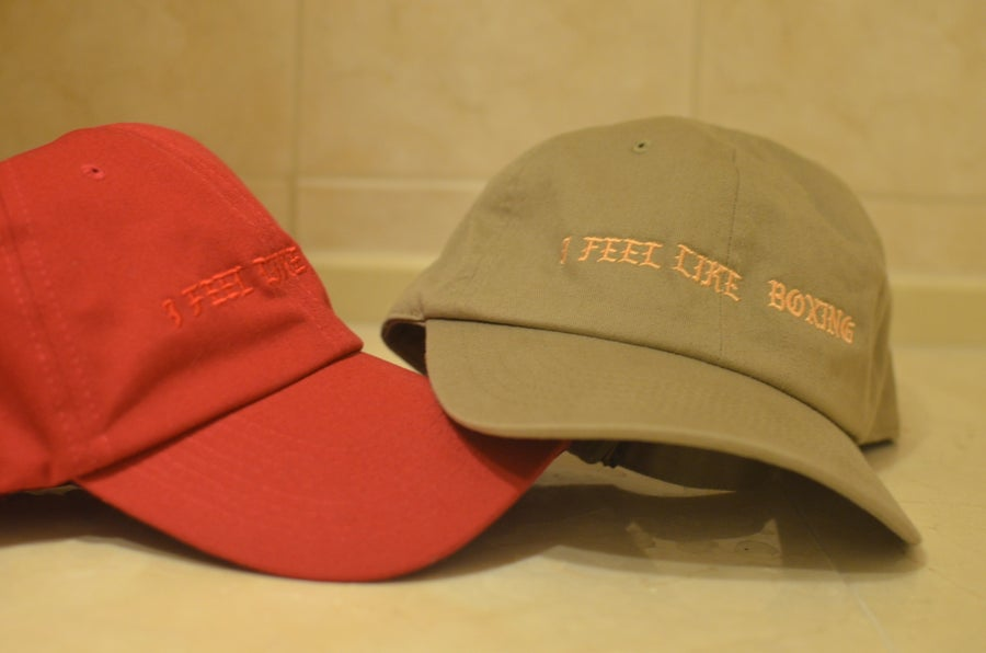 Image of Khaki baseball caps