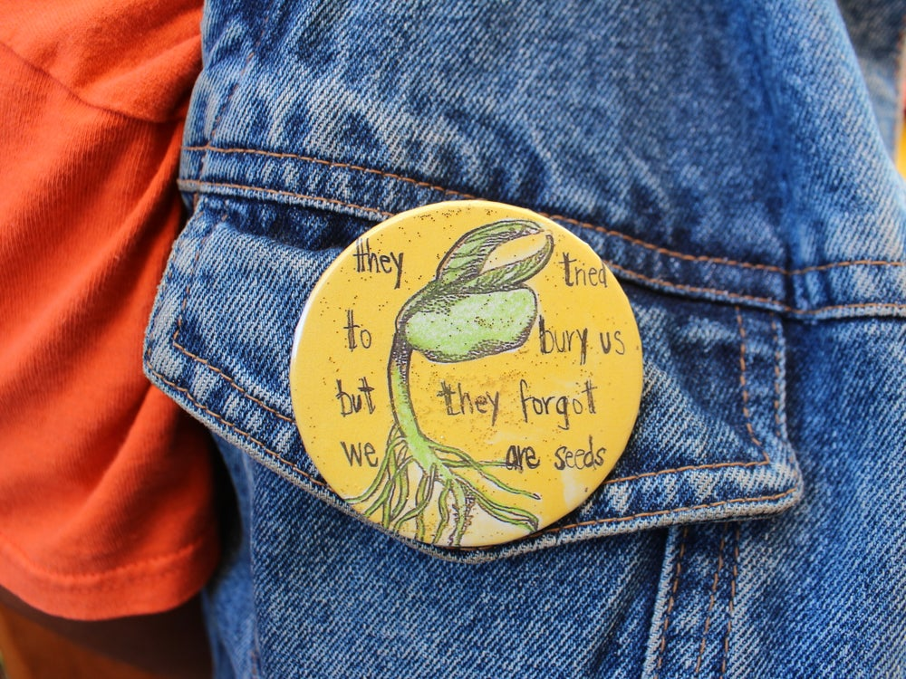 Image of We're Seeds Pin