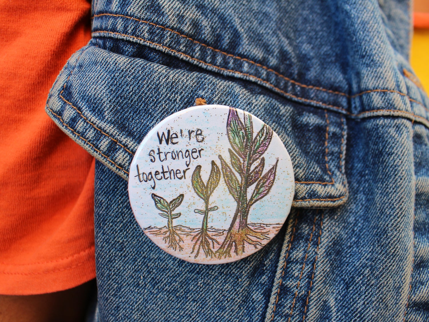 Image of Stronger Together Pin