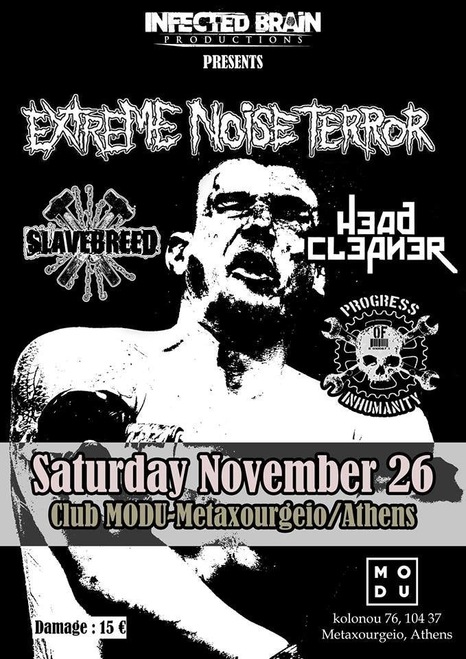 Image of EXTREME NOISE TERROR @ MODU (EARLY BIRDS)