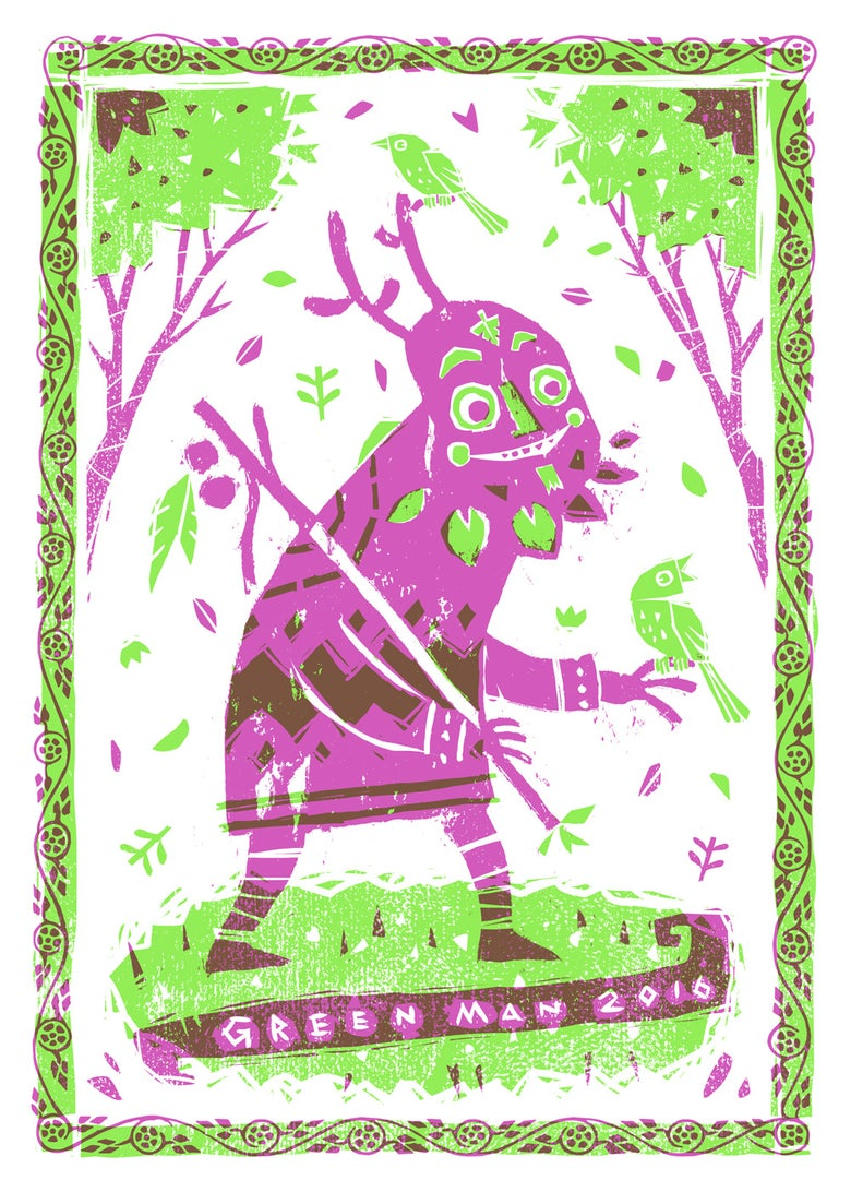 Image of Green Man Festival 2016 Live Demo Print
