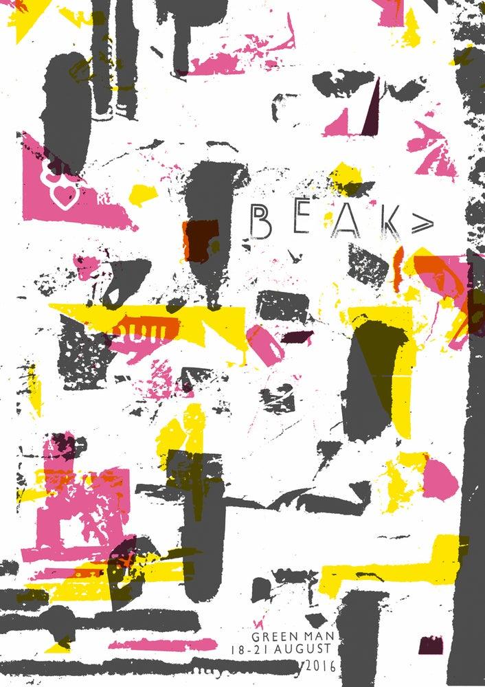 Image of BEAK> Poster - Green Man Festival 2016