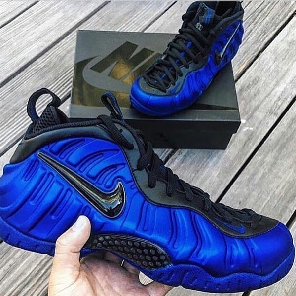 Image of NIKE FOAMPOSITE PRO | ROYAL BLUE