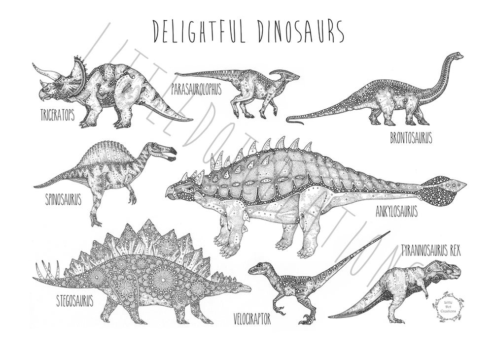 Image of Little Dot's Delightful Dinosaurs