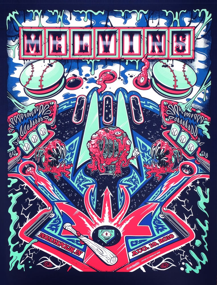 Image of MELVINS AUGUST 19th PRINT