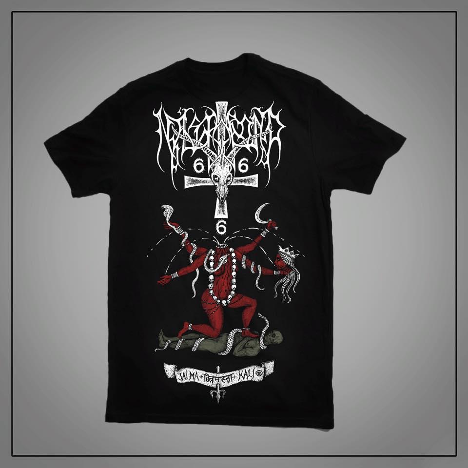 Image of Nåstrond - Jai Ma Kali - Official T-shirt.