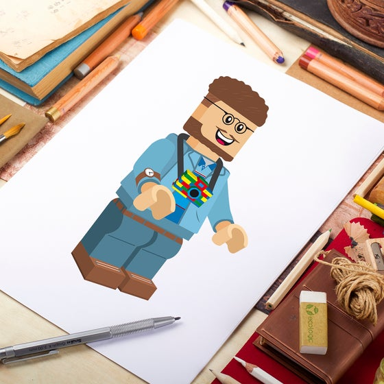 Image of Draw a Lego character of you
