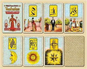 Image of Malkiel's 'Tacheles' Deck with Mystical Symbols