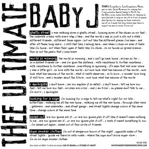 "Image of (thee ultimate) BABY J - Looking for a Sign (7"" EP+MP3)"