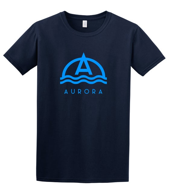 Image of Aurora HIGH TIDE t-shirt - Navy