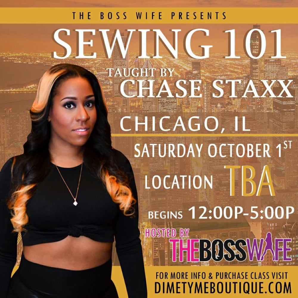 Image of One Seat Chicago Sewing Class (0ct 2nd)