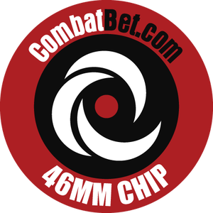 """Image of 46mm (1.8"""") Custom CombatBet Chips - Minimum Order is 100 Chips"""