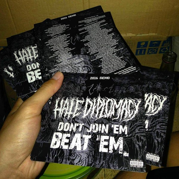 Image of Hate Diplomacy | 2016 Physical Demo