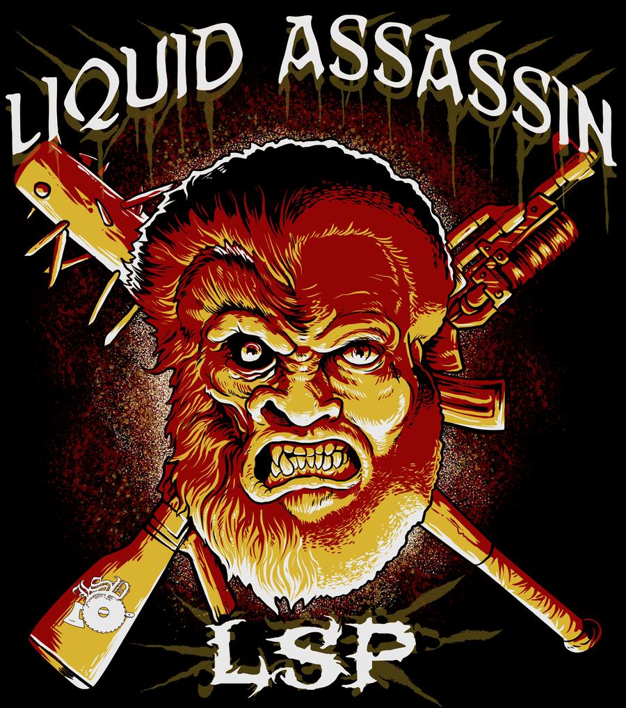Image of LIQUID ASSASSIN - NEW MULATTO HOODIE