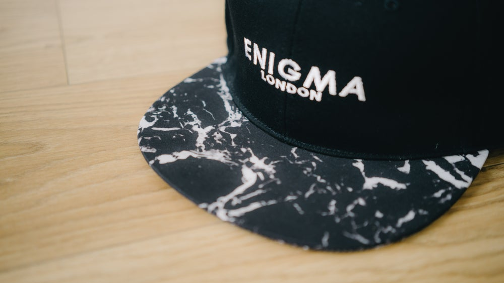 Image of London Snapback - Marble