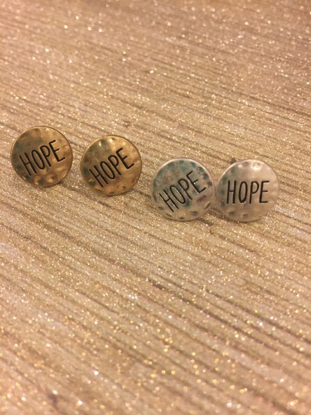 Image of Hope Stud Earrings
