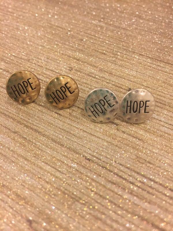 Image of Hope Stud Earrings