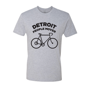 Image of People Mover Cyclist - grey