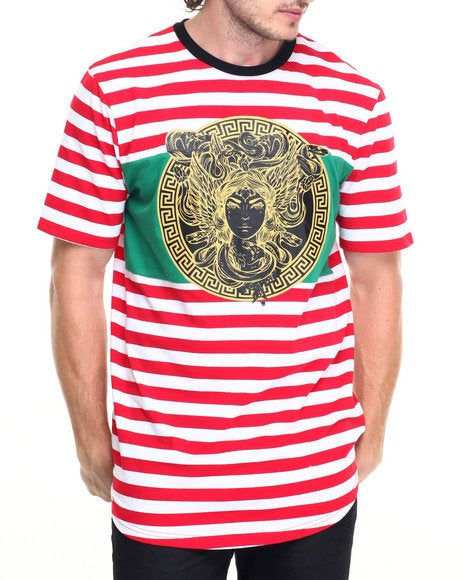 Image of HUDSON MEDUSA STRIPED | RED