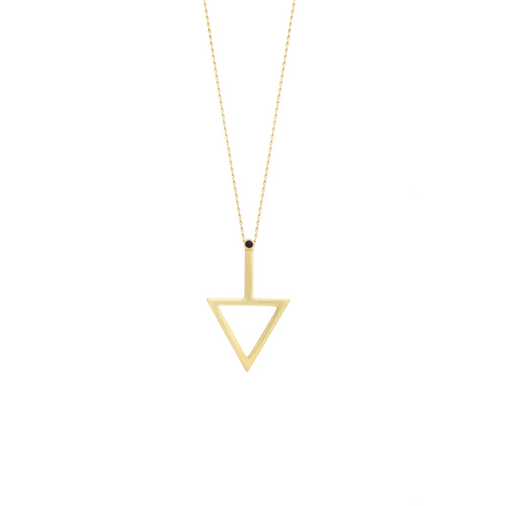 Image of Arc Necklace Gold Edition
