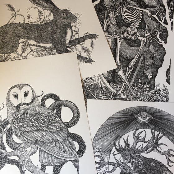 Image of Mini prints collection