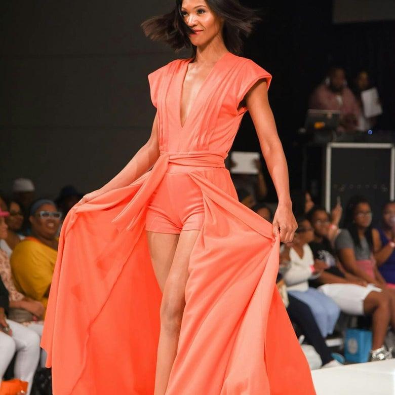Image of Pat Cleveland -Orange/Red