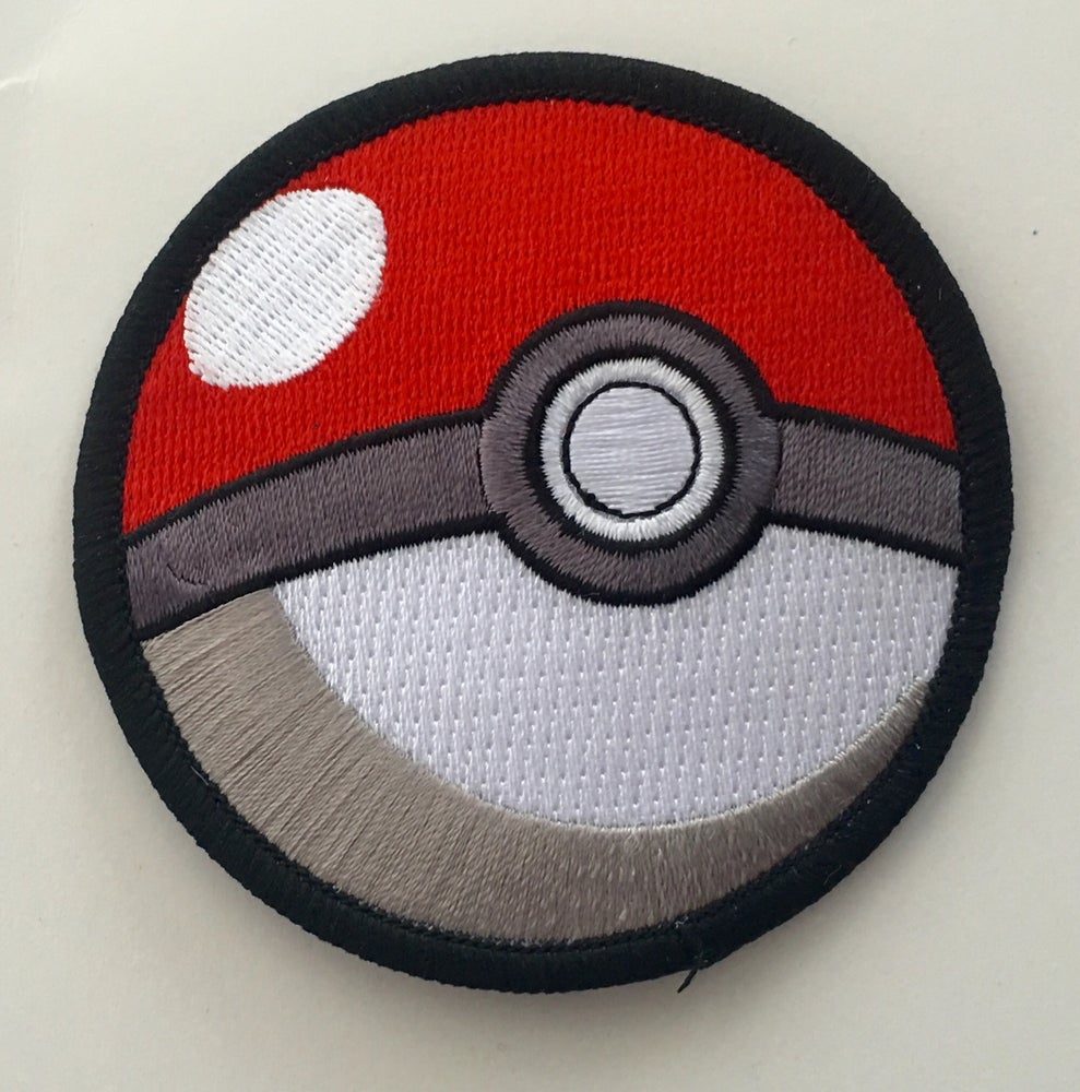 "Image of PoGo POKEBALL 3"" Patch"