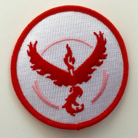 "Image of Team Valor 3"" Patch - Black or White version"
