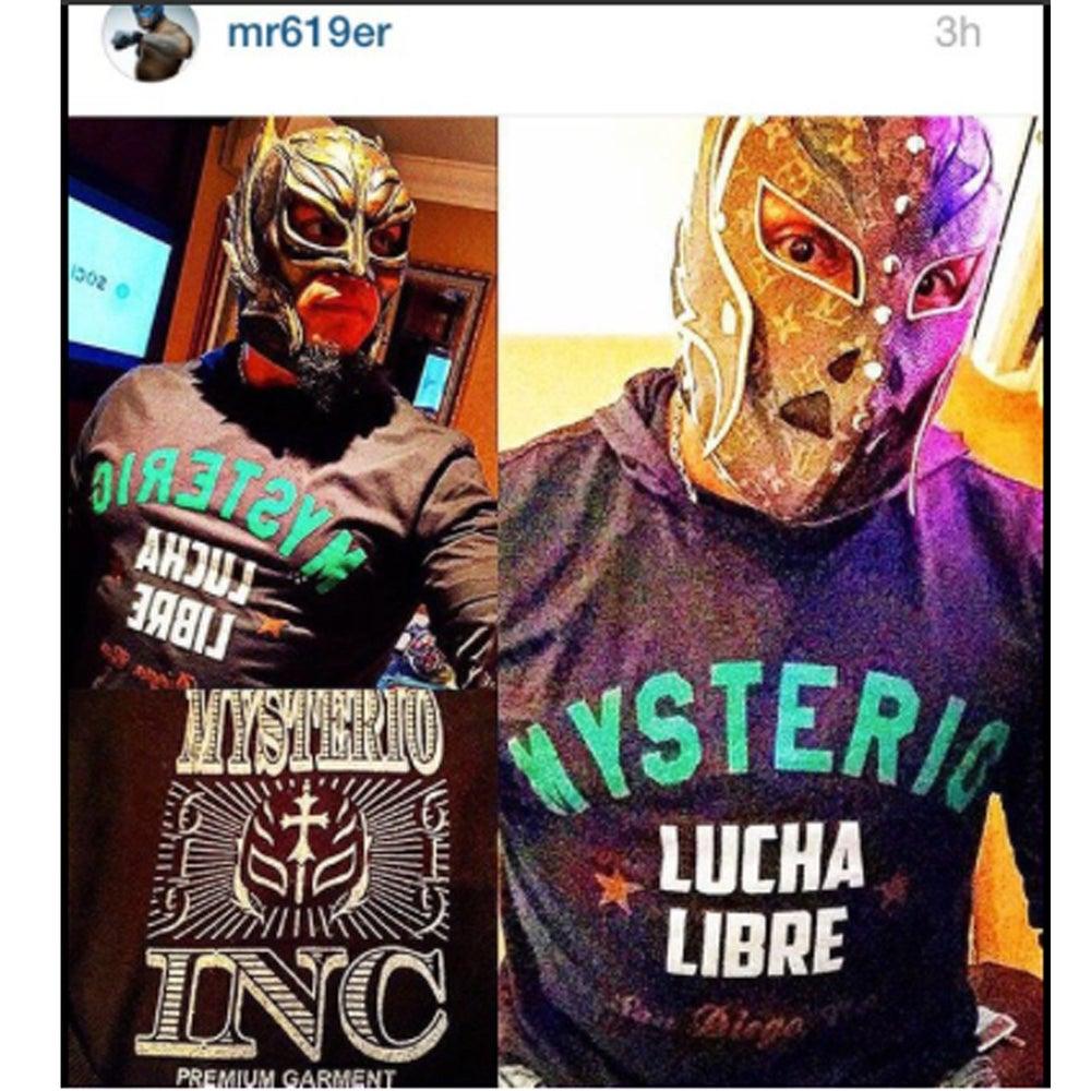 Image of Rey Mysterio - Vintage T-shirt - Black Variant