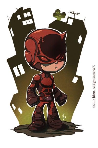 Image of Chibi Daredevil Print