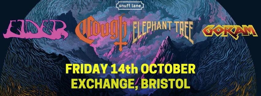 Image of Elder / Cough / Elephant Tree / Goram - Exchange, Bristol