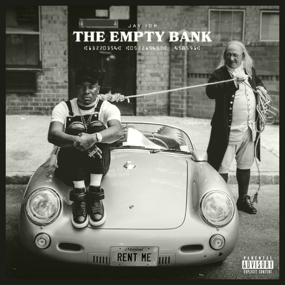 """Image of Signed Physical Copy of """"Empty Bank"""""""