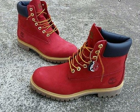 Image of RED TIMBERLAND | ALL SIZES