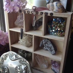 Image of Moon-phase Crystal Display Shelf