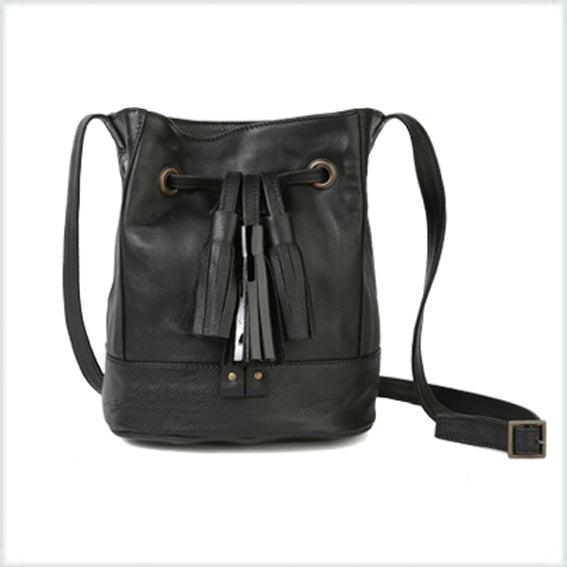 Image of OSA cuir noir