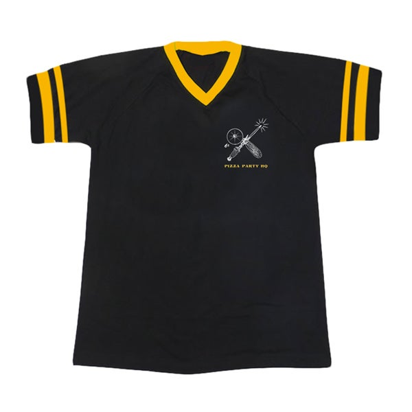 Image of SIZZLE PIE PIZZA WIZARD BASEBALL JERSEY